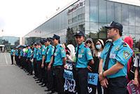 Bảo vệ khách hàng VIP tại sân bay