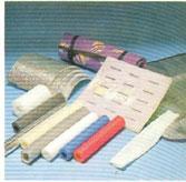 Mút xốp tấm lưới ống cán mỏng