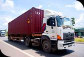 Vận chuyển bằng xe Container