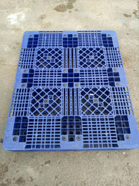 Pallet nhựa xanh 1000x1200x150