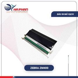 Đầu in mã vạch Zebra ZM400
