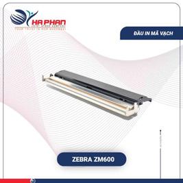 Đầu in mã vạch Zebra ZM600