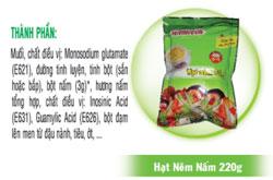Hạt nêm nấm