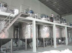 Bồn phản ứng dây chuyền sản xuất Zeolite