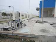 Hệ thống xử lý nước thải nhà máy Rhythm Kyoshin Hà Nội