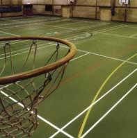 Gạch nhựa cho nhà thi đấu thể thao