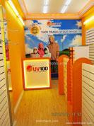 Kệ trưng bày Shop UV