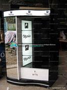 Tủ trưng bày mỹ phẩm Naris