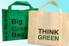 Túi vải không dệt môi trường