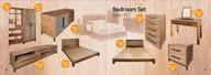 Giường tủ gỗ