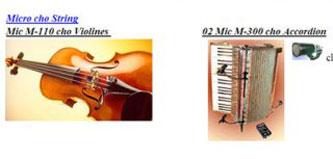 Micro cho string