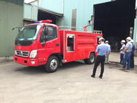 Cho thuê xe cứu hỏa xe PCCC