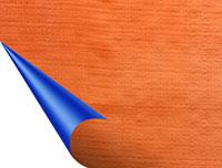 Bạt Tarpaulin xanh - cam