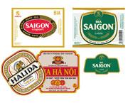Nhãn bia các loại