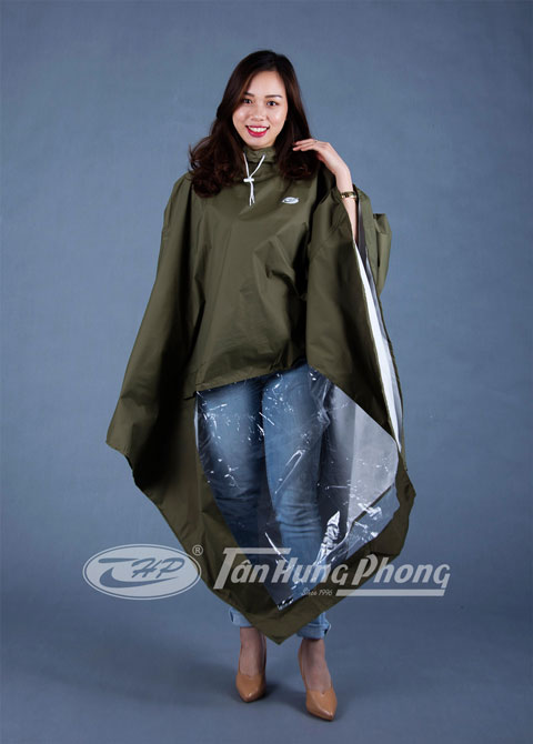 Áo mưa mũ vải - Polyester