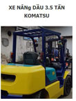 Xe nâng dầu Komatsu