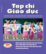 Bìa tạp chí giáo dục
