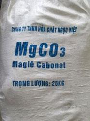 MgCO3 - Magiecacbonnat