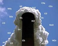 Trạm quan trăc khí thải ống khói