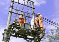 Lắp đặt dây và trạm biến áp