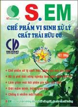 Chế phẩm vi sinh xử lý chất thải hữu cơ S.EM