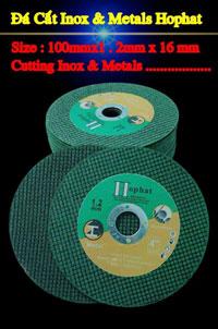 Đá cắt inox và metals