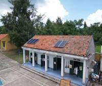 Lắp trên mái nhà