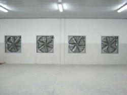 Hệ thống quạt hút thông gió
