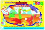 Xếp hình sáng tạo khủng long