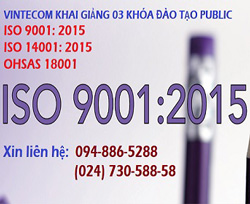 ISO 9001: 2015/ ISO 14001: 2015/ OHSAS 18001: 2007