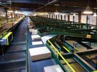 Băng tải nhựa ngành bao bì