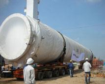 Dự án vận chuyển bồn gas Nhà máy Air Liquid VN