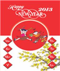 Thiệp năm mới