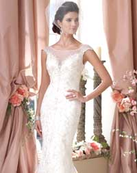 Kết cườm váy cưới