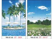 Màn cuốn tranh phong cảnh