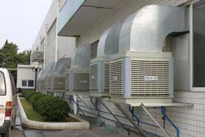 Thiết kế thi công hệ thống làm mát nhà xưởng