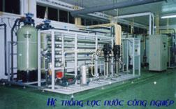 Thiết kế lắp đặt lọc nước công nghiệp