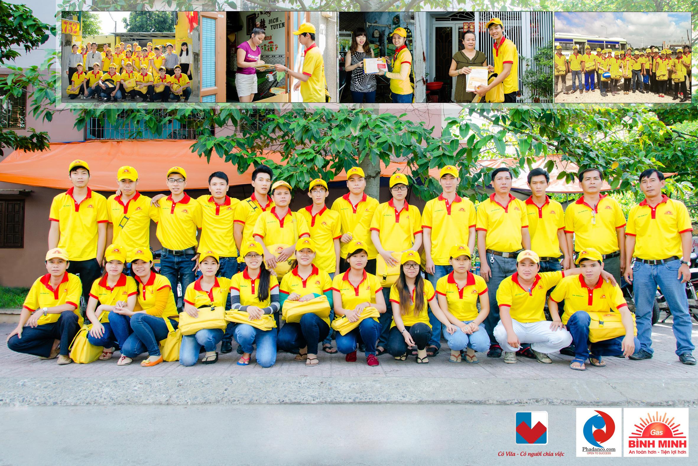 Activation cho Gas Bình Minh