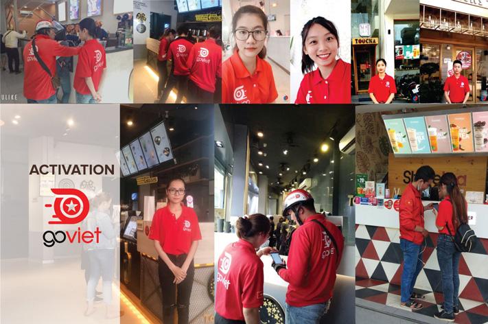 Activation cho Phần mềm gọi xe Go Việt