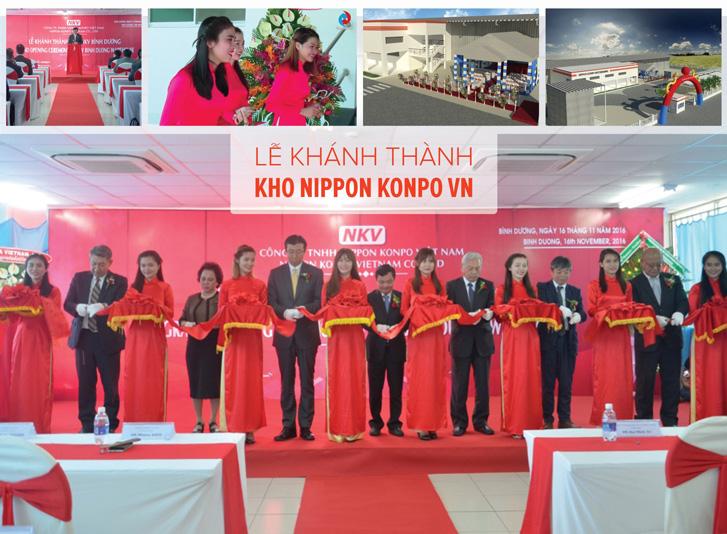 Lễ khánh thành Kho Nippon Konpo VN