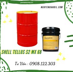 Dầu thủy lực Shell Tellus S2 MX 68