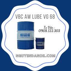 Dầu thủy lực 68 VBC AW LUBE VG 68