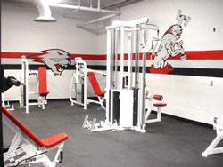 Thảm cao su phòng tập Gym