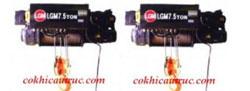 Pa lăng cáp điện dầm đơn LGM