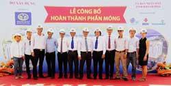 Tổ chức lễ hoàn thiện phần móng và mở bán nhà XH HQC tỉnh Khánh Hòa