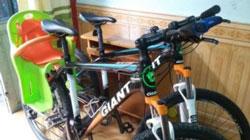 Xe đạp có ghế em bé