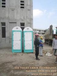 Nhà vệ sinh công trình xây dựng