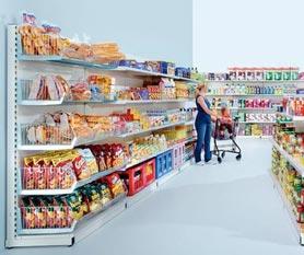 Giá kệ trưng bày siêu thị