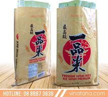 Bao PP Vina Tân Á đựng gạo xuất khẩu