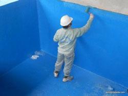 Bọc composite trên nền bê tông